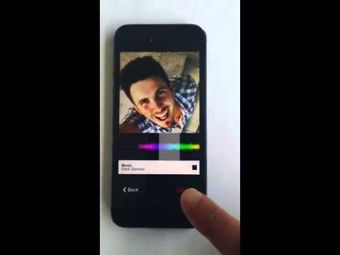 Add music to video on instagram or photo