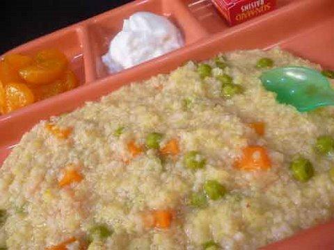 Cracked Wheat (Daliya) Khichdi - Indian Baby Food Recipes