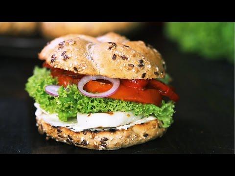 Halloumi Burger Recipe