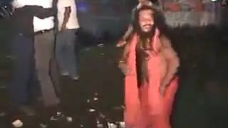 awesome dance by indian sadhu baba