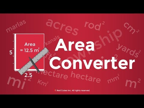 Area Converter - convert areas into different units with ease