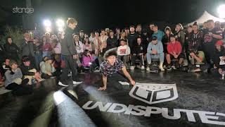 RM Vs Illz top 4 stance HUALIEN BBOY CITY X UNDISPUTED