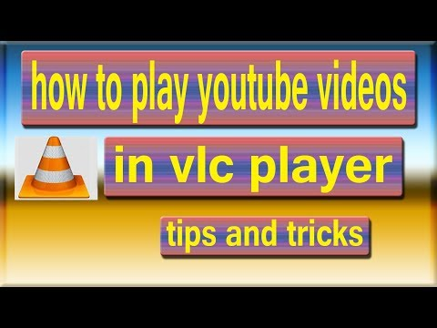 How to Play Youtube Videos in VLC Players in Hindi adeel shifa tricks