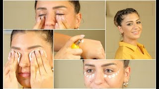 التخلص من تجاعيد منطقة العين والهالات السوداء بـ4 طرق فقط