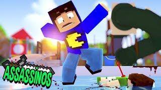 Minecraft: MORTE NO PARQUE AQUÁTICO! (Assassinos)