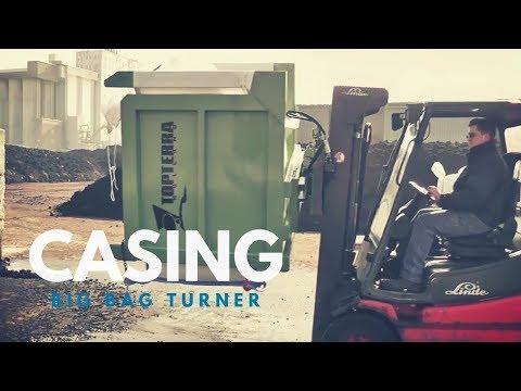Mushroom Machinery - Easy to Use Casing Big Bag Turner
