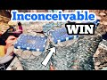 INCONCEIVABLE WIN Inside The High Limit Coin Pusher Jackpot WON MONEY ASMR