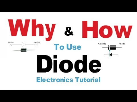 How diode works | Why and How to use Electronics Tutorials