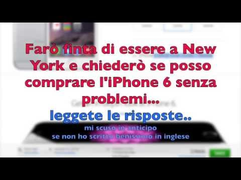 Comprare un iPhone 6 in USA : risposte dell' Apple Store Comprare stati uniti - iphone 6+ plus
