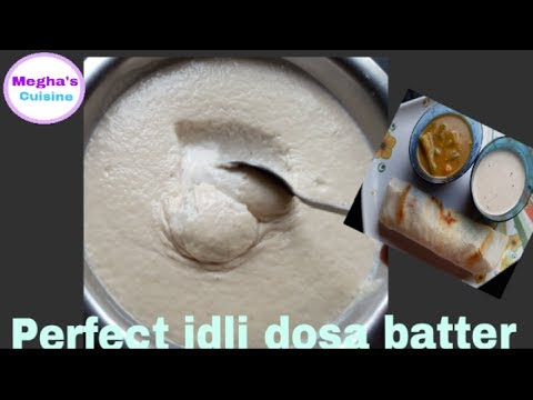 Perfect idli dosa batter recipe: how to make dosa at home easy recipe in hindi