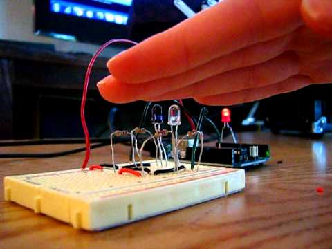 Arduino + IR Emitter + IR Detector