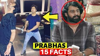 15 facts you  didn't know about saaho star prabhas