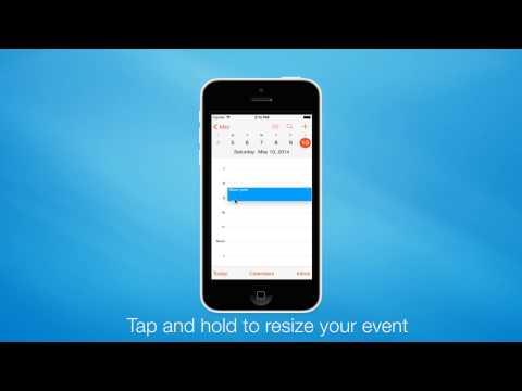 Quick Tip:How to Create quick event in iOs 7 Calendar
