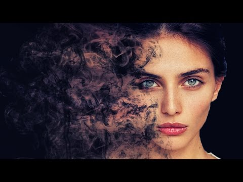 smoke dispersion face photoshop effect tutorial cs6/cc