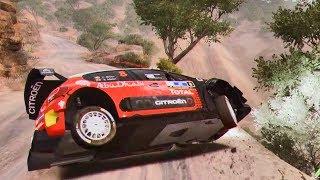 WRC 7 FIA World Rally Championship - Crash Compilation #2 (PC HD) [1080p60FPS]