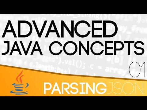 Advanced Java Concepts - Parsing JSON
