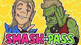 SMASH or PASS - FANTASY RACE Edition?! - Random Character Designs