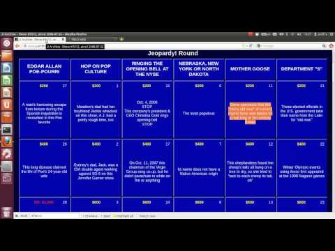 Treo: Do it your own (DIY) Jeopardy Question Answering Engine