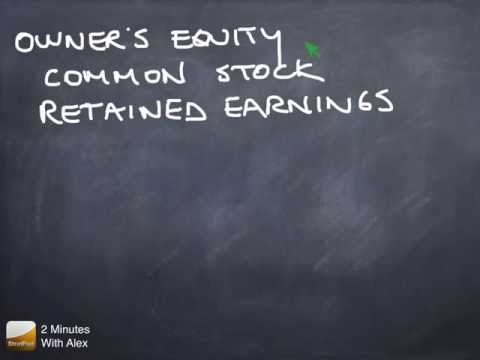 Balance Sheet, Cont'd: Owner's Equity