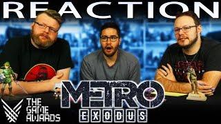 Metro Exodus World Premiere Trailer REACTION!! TGA 2017