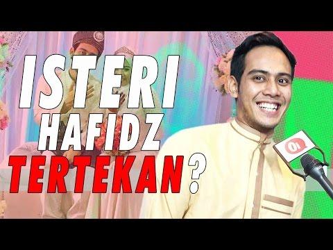 Hafidz Roshdi tertekan isteri cemburu?