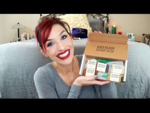 Amazing Smelling Soaps! Artisan Soap Box Unboxing and Review