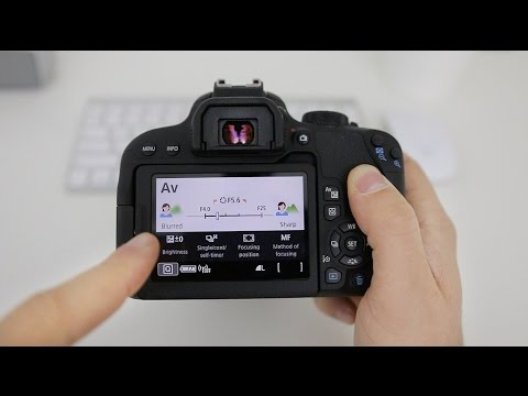Canon T7i (800D) Tutorial For Beginners - Users Guide Manual