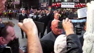 Vin Diesel - in London (Fast and Furious 6)