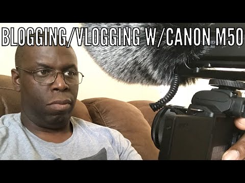 Canon EOS M50 | Great for YouTube, and Vlogs!