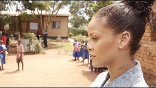 inside rihannas trip to malawi for education
