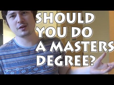 Should You Do A University Postgraduate Masters Degree Course?
