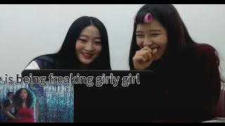 Koreans react to Little Mix(british girl group)-Love me like you + Wings (Korean)