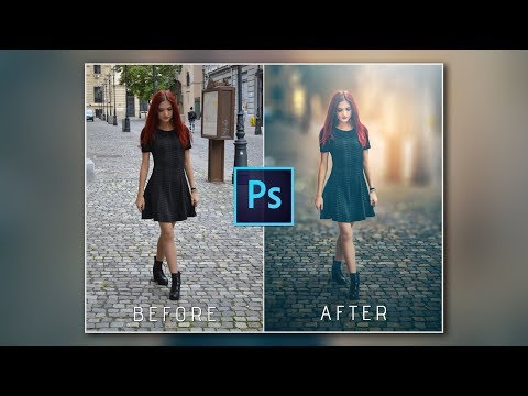 Photoshop Tutorial: HOW to CHANGE photo BACKGROUND  ✔