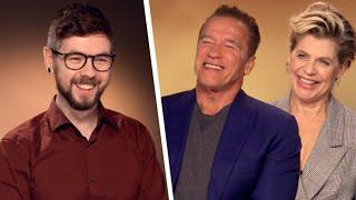 I Got Arnold Schwarzenegger To Say