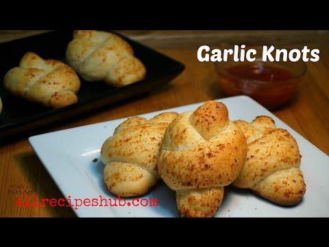Garlic Knots Recipe - home made garlic bread recipe - Pizza hut Style