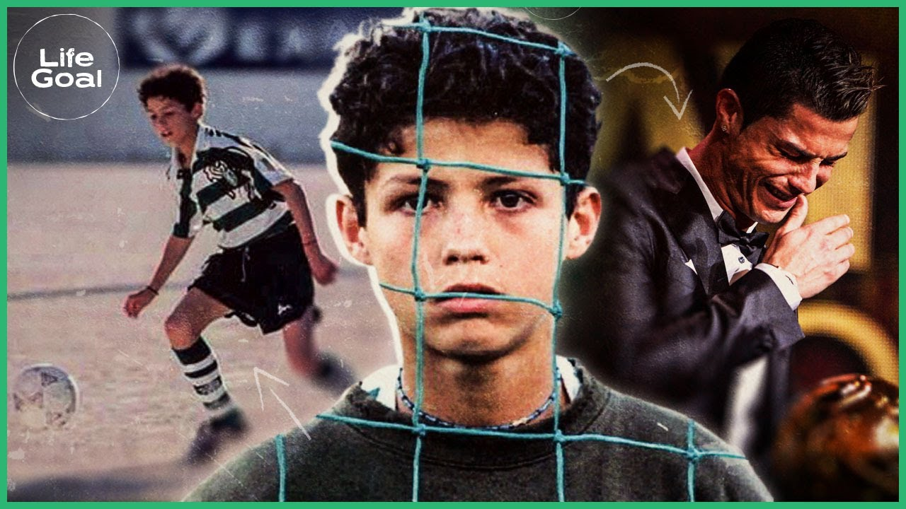How Cristiano Ronaldo's youth turned him into the great champion that he is today | Life Goal
