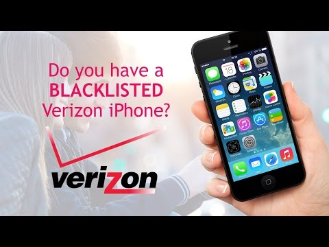 What to do with your Blacklisted Verizon iPhone