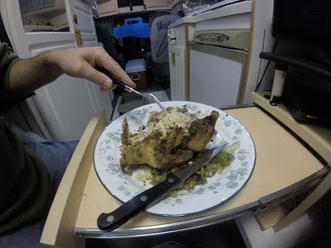RV COOKING - Cornish Game Hens in NuWave Oven