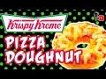 Krispy Kreme Pizza Doughnuts - Man Vs Youtube #19