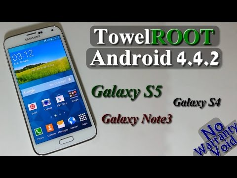 How to Root Galaxy S5, S4, Note 3 on [NF+] Android 4.4.2 (TowelRoot)