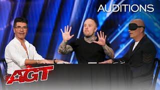 Simon Cowell Controls Howie Mandel's MIND?! Ryan Tricks Shocks Us All! - America's Got Talent 2020