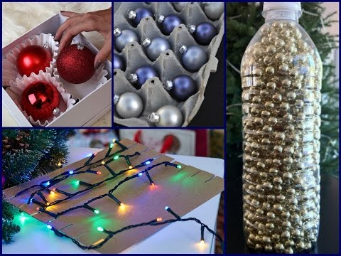 Easy Christmas Decoration Storage Hacks - Holiday Storage Solutions
