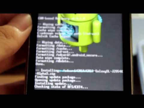 How to flash/install CM10 Alpha 3 on i9003