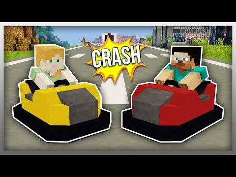 ✔️ Working BUMPER CARS in Minecraft! (Vehicle Wednesdays)