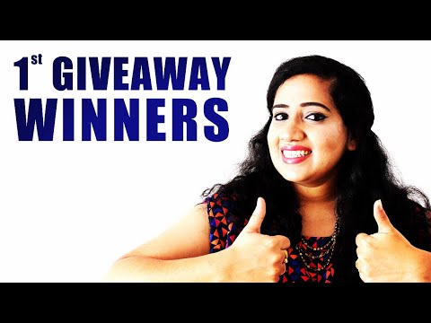 Announcement- 1st GIVEAWAY WINNERS!! Happy Pink Studio