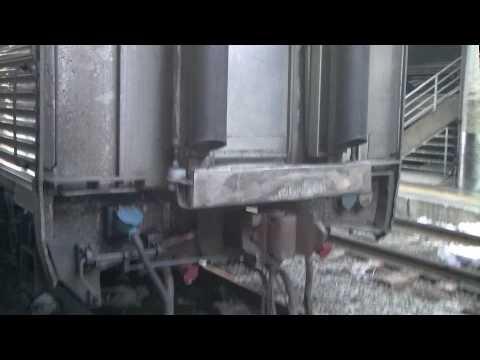 Amtrak Silver Star train trip to Raleigh North Carolina part 8 (engine switch)