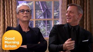 Daniel Craig 'Loses It' at Jamie Lee Curtis Joke! | Good Morning Britain