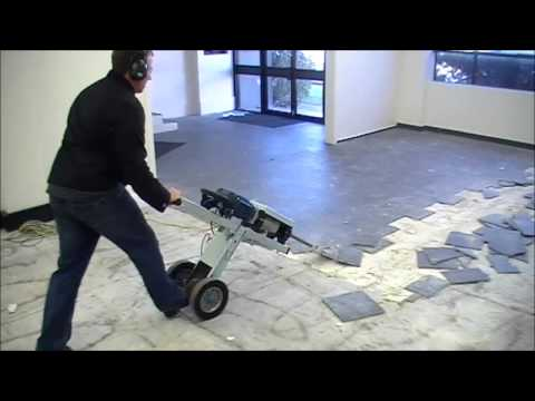 MAKINEX® Jackhammer Trolley JHT - FASTEST WAY TO REMOVE FLOOR TILES