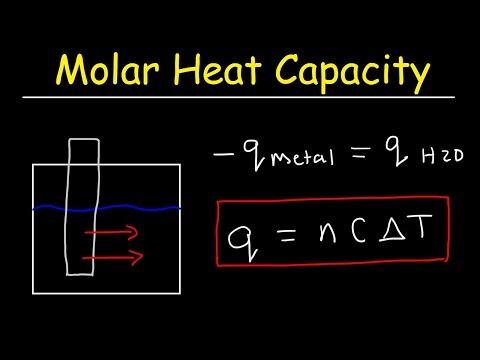 Molar Heat Capacity Problems - Physics