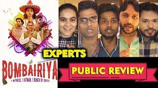 BOMBAIRIYA PUBLIC REVIEW | Radhika Apte, Siddhant Kapoor | Experts Review